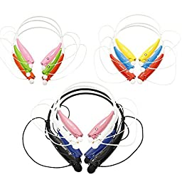 Wireless Bluetooth Headset * With Microphone and Voice Guidance * Flexible and Light Neck Band Design * Comes with FREE Headset Cover Valued at $12.00