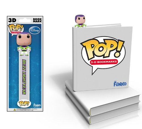 Funko Disney Buzz Lightyear 3D Bookmark - 1
