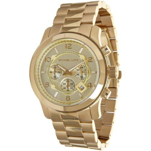 Michael Kors Mk8077 Gold-Tone Men'S Watch front-668873