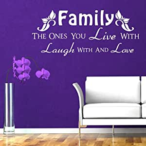 Family The Ones You Live With Laugh With And Love Vinyl