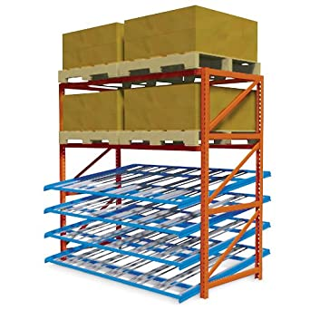 Quikpik Gravity Flow Pallet Rack Level 96x48 Quot Pallet