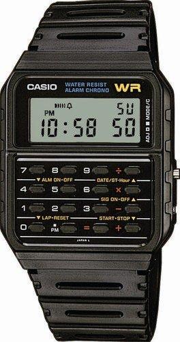 Orologio Casio CA-53W-1ER Databank Unisex