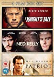 The Patriot/A Knight's Tale/Ned Kelly [DVD]