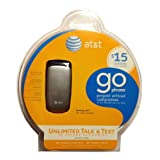 Samsung a107 Prepaid GoPhone (AT&T) with $15 Airtime Credit Included ~ Samsung