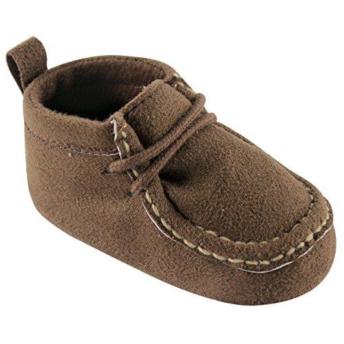 Luvable Friends Boy s Faux Suede Boot Infant Brown 12