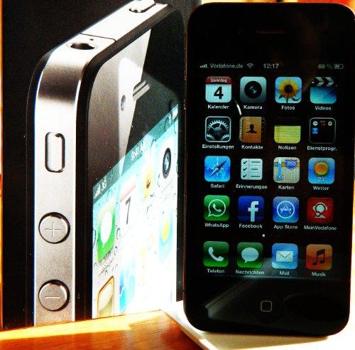 Apple Computer Apple iPhone 4 16GB (EU) schwarz Vodafone-Software