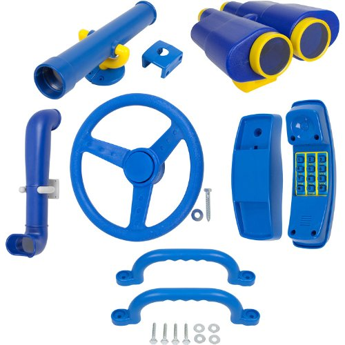 Deluxe Accessories Kit (Blue) With Sss Logo Sticker