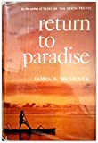 Return to Paradise (0394442911) by Michener, James A.