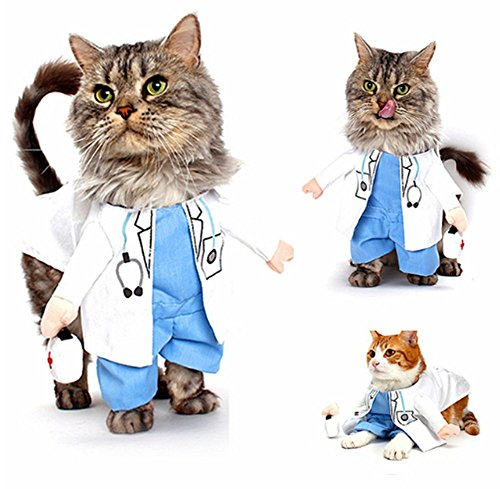 Pet-Doctor-Dog-Cat-Costume-Clothes-Funny-Cosplay-Small-Puppy-Party