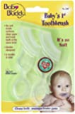 Baby Buddy Baby's 1st Toothbrush, Clear, 2-Count
