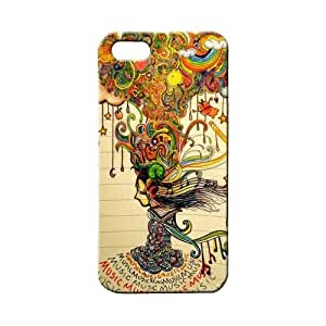 BLUEDIO Designer 3D Printed Back case cover for Apple Iphone 4 / 4S - G5247