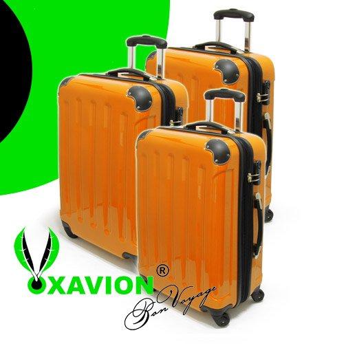 Xavion Reisekoffer 3-teilig Hartschalenkoffer