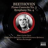 Beethoven: Piano Concerto No. 5 - Symphony No. 4