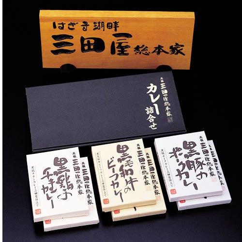元祖三田屋総本家 3種類のカレーギフトセット Mサイズ(6食入り)