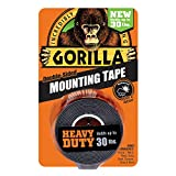 Gorilla Heavy Duty Mounting Tape, Double-Sided, 1