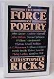 The Force of Poetry (019282046X) by Ricks, Christopher