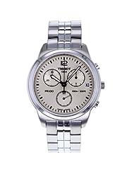 Tissot PR100 GTS Chronograph Silver Sunray Dial Men's Watch #T049.417.11.037.00