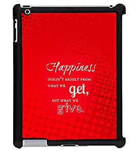 Printvisa 2D Printed Quotes Designer back case cover for Apple ipad 3- D4541