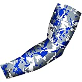 Compression Arm Sleeve - Flaked Camo Design, Youth And Adult Sizes (Includes 1 Sleeve)