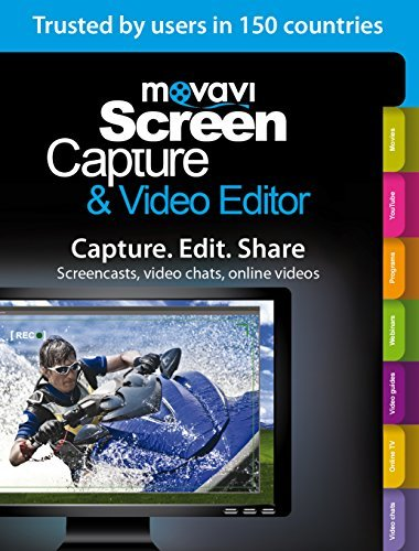 Movavi Screen Capture & Video Editor 6 Business Edition [Download] (Video Capture Program compare prices)