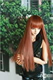 *CROBI DOLL* ドール/ウィッグWIG/CRWL-13 (Powder Brown)/9~10inch/SD/60cmドール
