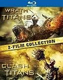 【初回限定生産】タイタンの戦い&タイタンの逆襲 ブルーレイ ツインパック(2枚組) [Blu-ray]
