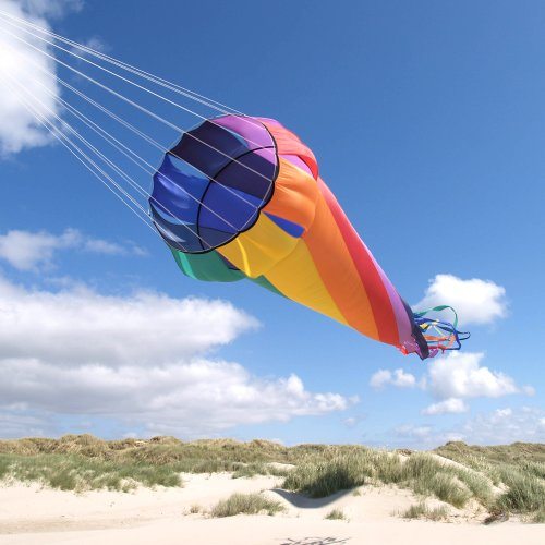 HQ Kites Mega Turbine 16.4' Rainbow