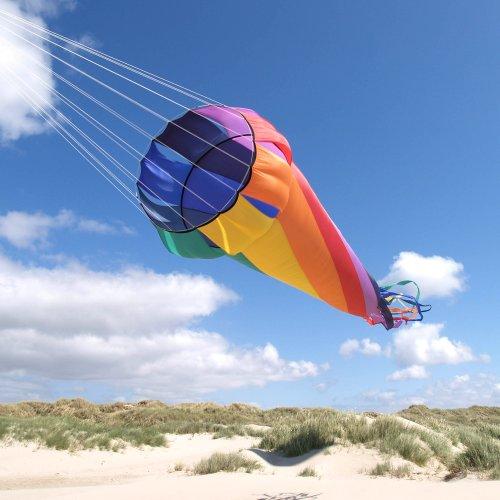 HQ Kites Mega Turbine 16.4' Rainbow