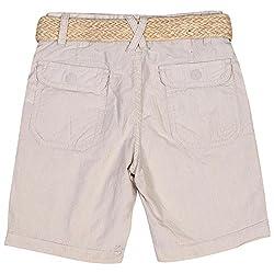 Irene Baby-Boys' 5-8 Years Slim Fit Shorts (Ire-lightbeige-shorts_5-6 Years,Light beige,5-6 Years)