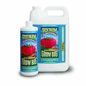 FoxFarm FX14010 1-Quart FoxFarm Grow Big Hydroponic Liquid Concentate 3-2-6