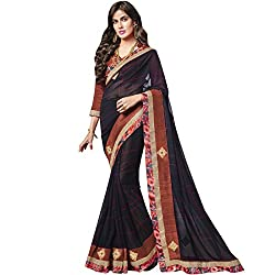 Vasu Saree Navy Blue Patch Work Georgette Designer Saree