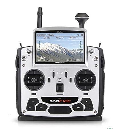 """XT-XINTE Walkera Devo F12E émetteur FPV Radio 32 canaux 5,8 GHz avec 5 """"Ecran LCD pour H500 X350 X800 pro RC Drone Quadcopter"""
