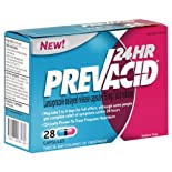 Prevacid Acid Reducer, 24 Hour, 15 mg, Capsules, 28 ct.