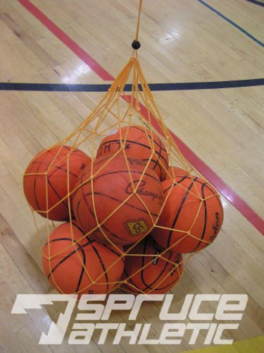 Lightweight Netted Ball Bag (Holds 10 Soccer Balls)
