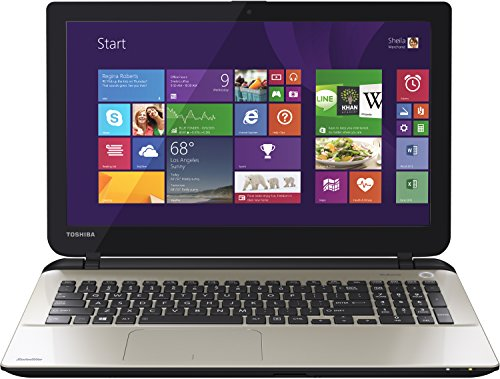 Toshiba Satellite L50-B-1TD 39,6 cm (15,6 Zoll) Notebook (Intel Core i7 4510U, 2GHz, 8GB RAM, 256GB SSD, Radeon R7 M260, DVD, Win 8) silber