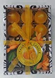 Fragrance candle gift sets(5x16.5x11.5 cms,Orange)