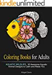Coloring Books for Adults: Aquatic Wi...