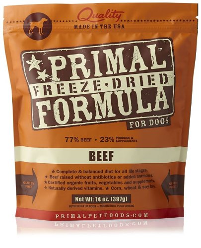 Primal Freeze-Dried Canine BEEF Formula Dog Food, 14oz