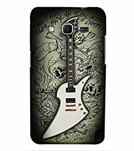 PrintVisa Music Guitar Quotes 3D Hard Polycarbonate Designer Back Case Cover for Samsung Galaxy Core Prime G360