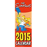 Official the Simpsons Slim Calendar 2015