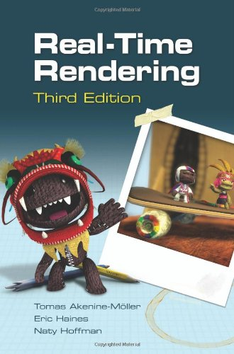 3D Book Real-Time Rendering, Third Edition