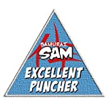 Samurai Sam Reward Badge - 3 Pack - Excellent Puncher