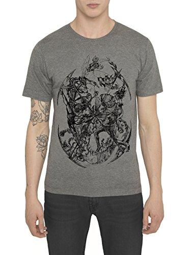 Camisetas-de-Algodn-para-Hombre-T-Shirt-Fashion-Rock-Camiseta-Negra-con-Estampada-SURVIVAL-T-Shirts-Designer-Cool-Ropa-Moda-Moderna-para-Hombres-Cuello-redondo-Manga-corta-S-M-L-XL-XXL