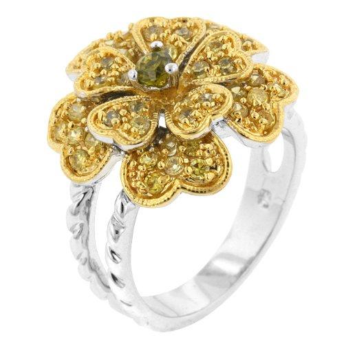 ISADY Paris Ladies Ring cz diamond ring Coeur Royal