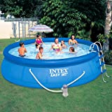 Easy Set Pool Set with Filter Pump and Ladder