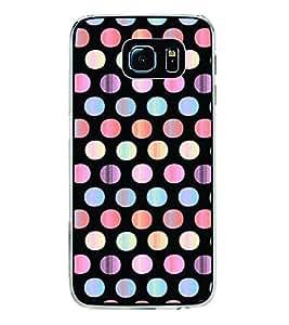 Printvisa Multicoloured Polka Dot Pattern Back Case Cover for Samsung Galaxy S6 Edge+ G928::Samsung Galaxy S6 Edge Plus G928F