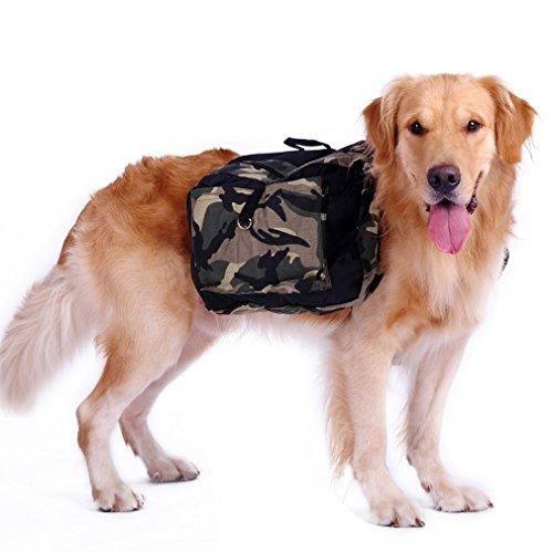 Kany Dog Saddlebag Backpack Adjustable Style Dog Accessory Harness