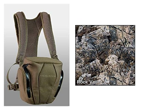 Eberlestock Nosegunner Binocular Case, Hide Open Rock Veil A2Cphk