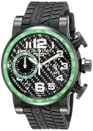 Graham-Mens-2SAABB02A-Silverstone-Analog-Display-Swiss-Automatic-Black-Watch