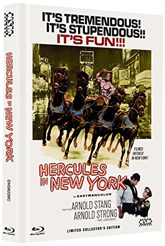 Herkules in New York [Blu-ray + DVD] limitiertes Mediabook Cover C [Limited Collector's Edition]